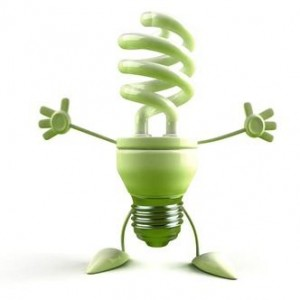 green lightbulb friend